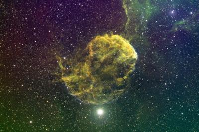 IC 443 Jellyfish Nebula Edit SM