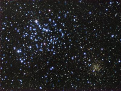M35 NGC2158 Siril APP
