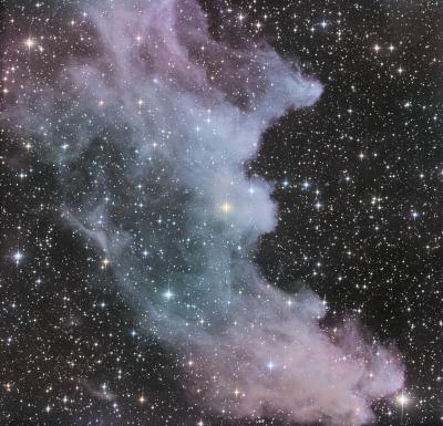 Witch Head Nebula L 11x600s R 6x600s G 6x600s B 6x600s