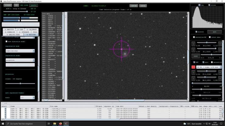 APP comet