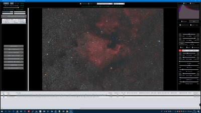 BeforeStarColorCalibration Hans ngc7000