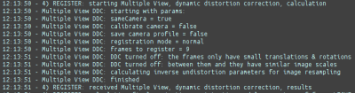 Detected Dynamic Distortion Not Needed