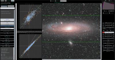 Star Color Calibration IDAS LPS filter parameters