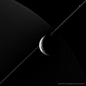 http://apod.nasa.gov/apod/image/1507/DioneCompany_Cassini_1020.jpg