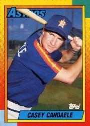 Casey Candaele, 1990 Topps