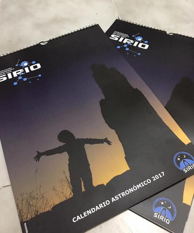 Calendario Astronómico de SIRIO 2017