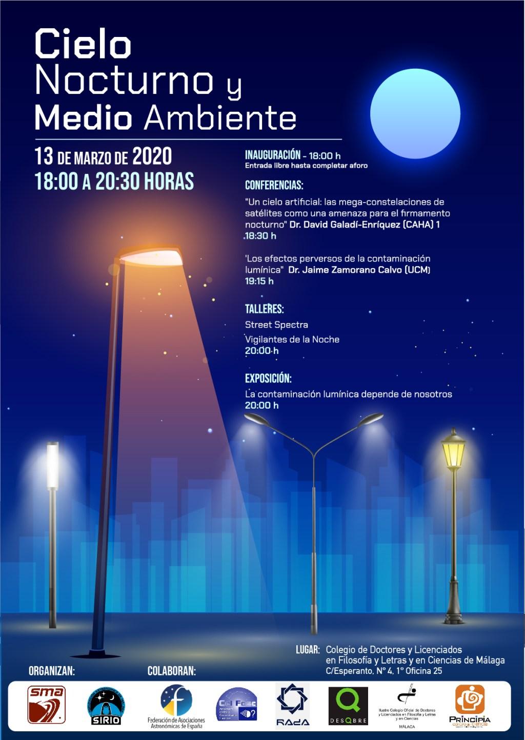 Jornadas de Cielo Nocturno y Medio Ambiente 2020