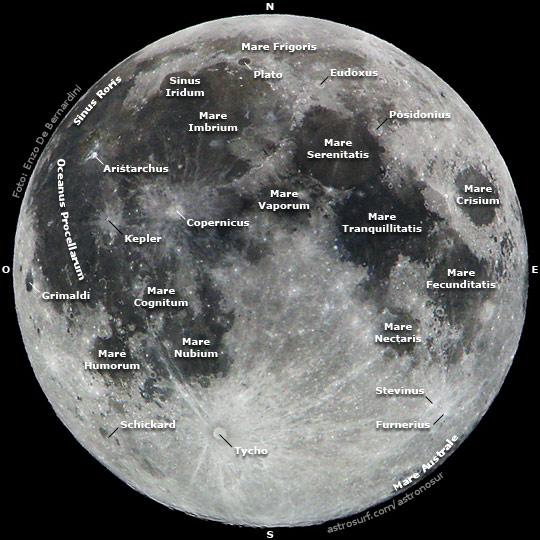Mapa Lunar