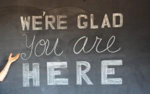 We're Glad