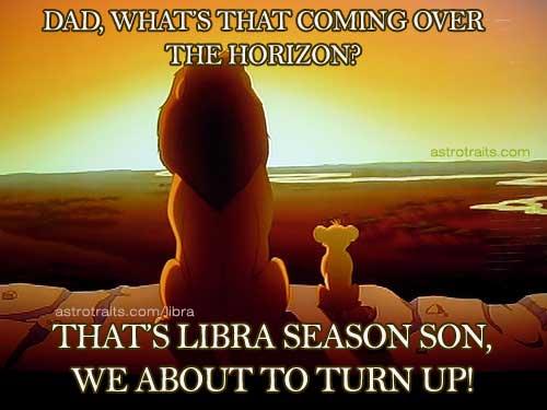 libra season lion king meme