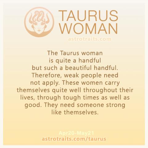 Taurus Woman Quote