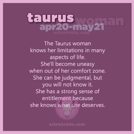 Taurus Woman Quotes 3