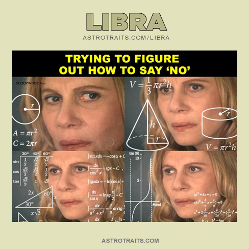 Libra Confused Lady Meme