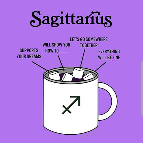 Sagittarius traits meme 21