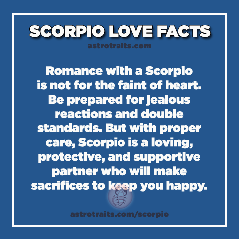 scorpio love facts
