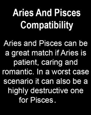 pisces aries compatibility