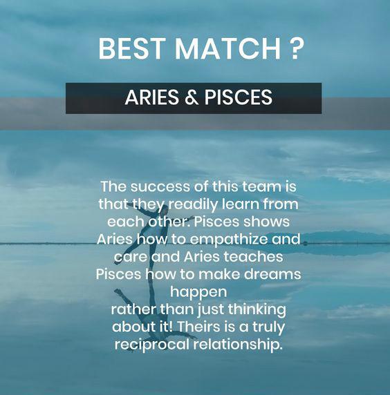 aries pisces best match