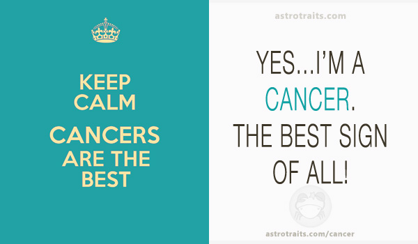 cancer best sign of all