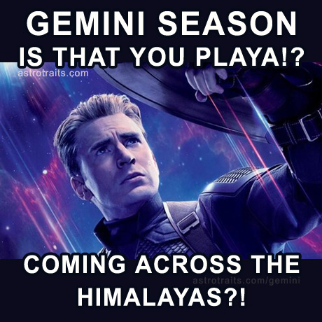 gemini season is that you playa