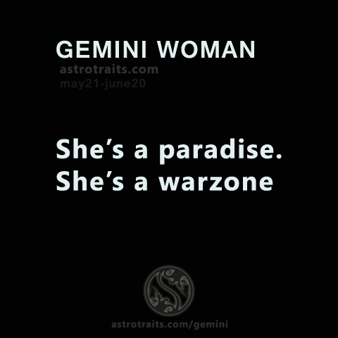 gemini woman paradise warzone