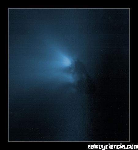 Núcleo del cometa Halley
