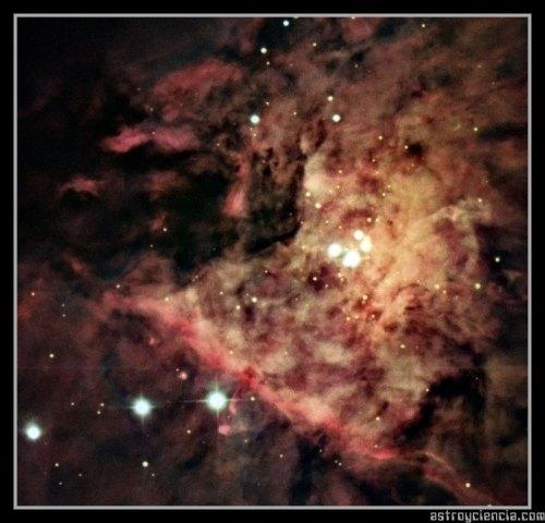 Trapecio de la nebulosa de Orión