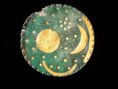 arqueoastronomia: Disco astronómico de Nebra