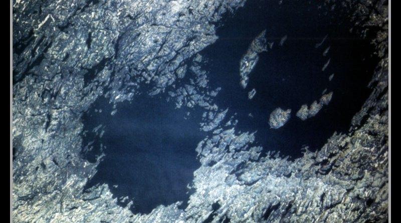 Cráteres de la Tierra en Québec