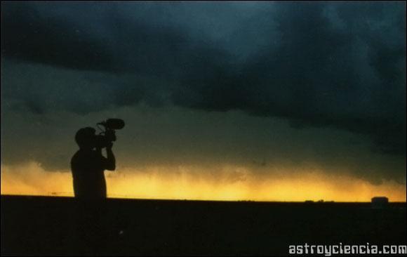 Fotografiando la tormenta