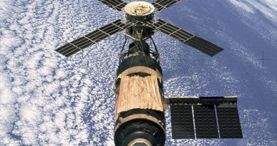 Skylab - Lanzada en mayo de 1973
