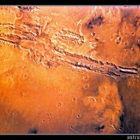 Valle Marineris de Marte
