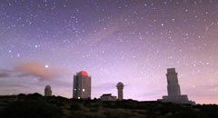 Timelapse desde Tenerife (Islas Canarias)