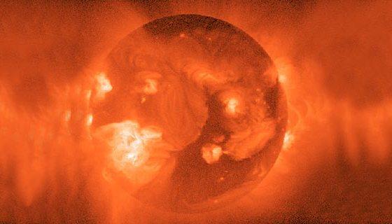 actividad solar a maxima potencia