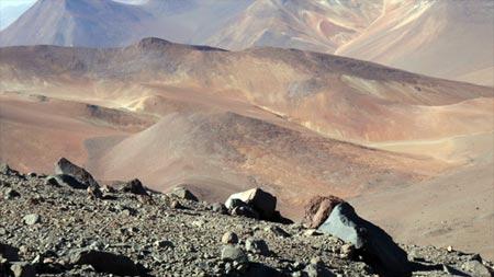 Vida extremófila en el desierto de Atacama