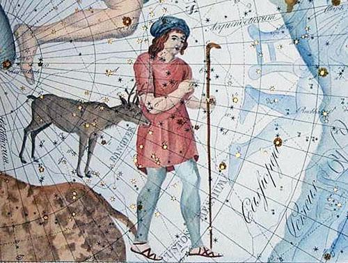 La constelación del Reno