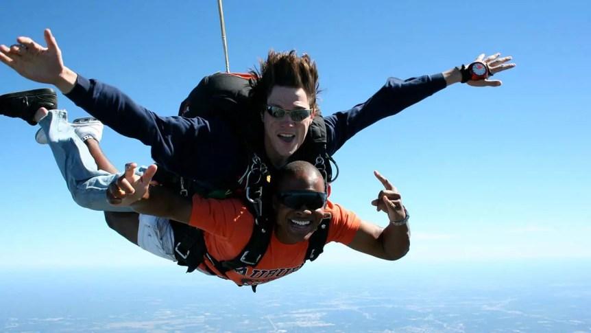 Tandem Skydiving Jumps