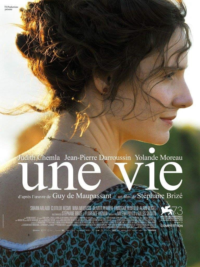 French Poster Η ζωή μιας γυναίκας (Une vie / A woman's life) (2016)