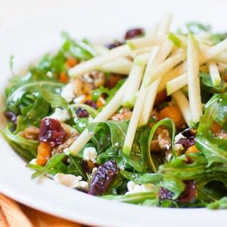 Apple and Maple Roasted Squash Salad