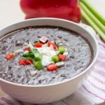 Low Fat Black Bean Soup