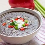 Low Fat Black Bean Soup