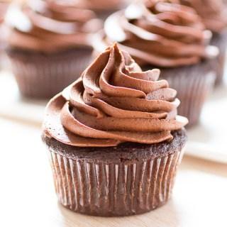 Chocolate Cupcakes with Chocolate Ganache