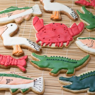 Cajun Critter Sugar Cookies