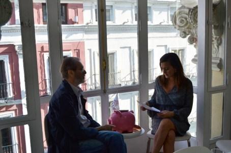 Rocío Irirsarri, jefa de prensa ASUFIN, entrevista a Missé
