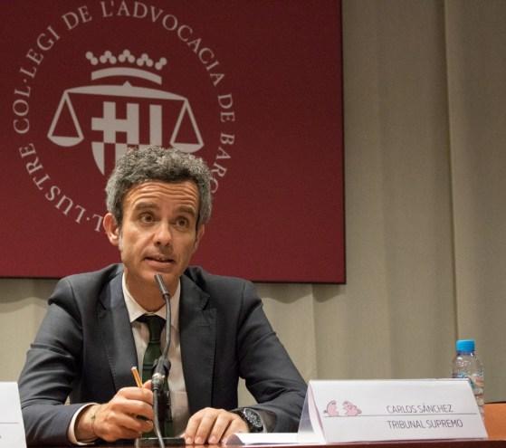 Carlos Sánchez Martín, letrado del gabinete técnico del Tribunal Supremo