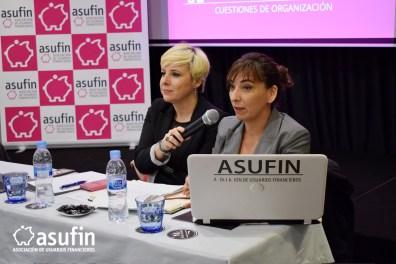 Intervención de Rosana Organista, Secretaria General de ASUFIN.