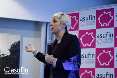 Intervención de Patricia Suárez, Presidenta de ASUFIN.