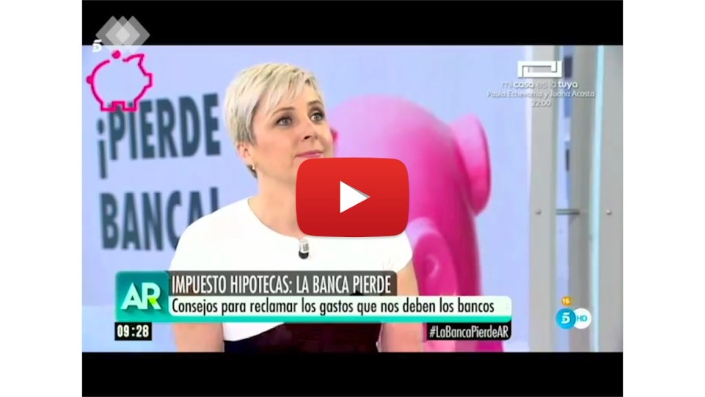 Wonder Woman en Telecinco sobre Gastos Hipotecarios.