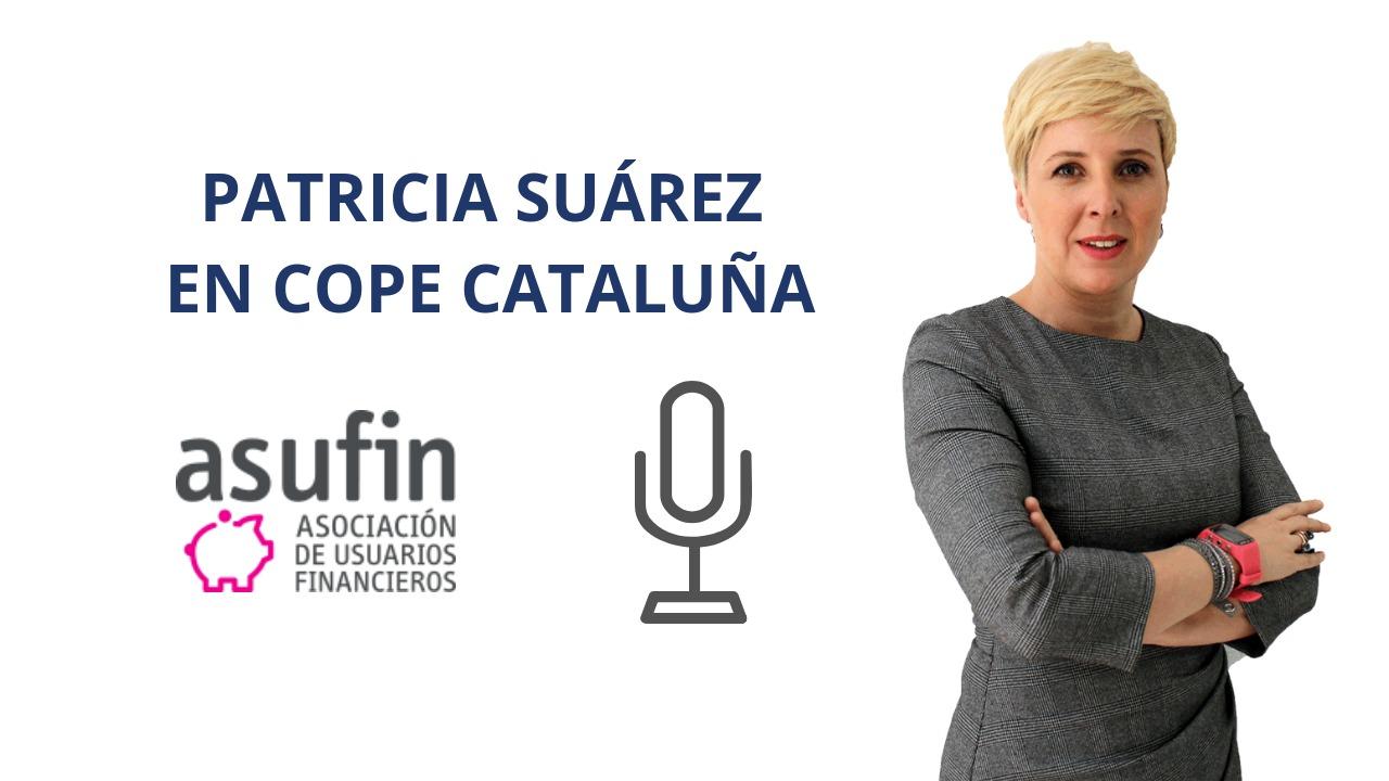 Patricia Suárez en COPE Catalunya sobre IRPH