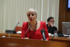 Patricia Suárez en el Congreso Esloveno sobre la visión europea sobre las soluciones sistémicas a los préstamos en divisas
