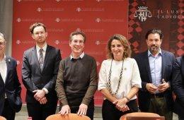 Ponentes del debate sobre Transición Ecológica y Reforma de las Finanzas